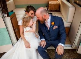 Classic Campervanfor wedding hire in Arundel